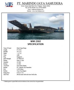 67.30m-x-19.51m-x-4.27m-Deck-Cargo-Barge-WM2302