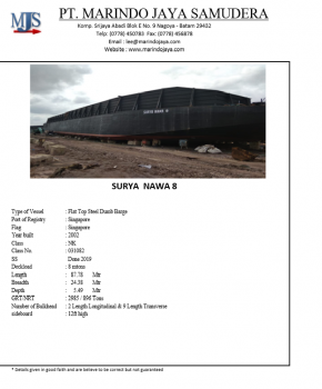87.78m-x-24.38m-x-5.49m-Flat-Top-Steel-Dump-Barge